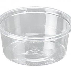 Plastik 58 mm Çap Sos Kabı Altı