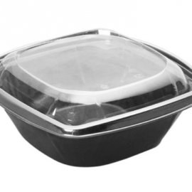 190X190 Salata Kabı 1000 Ml